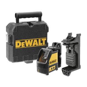 Lazerinis nivelyras DW088CG 2 žalias lazeris  3xAA baterijos, DeWalt