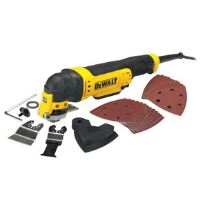 Multitool DWE315 + accessories, DeWalt