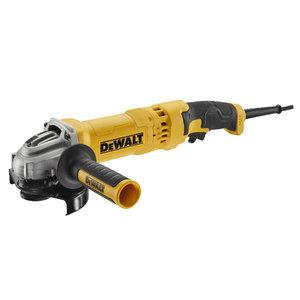 Angle grinder DWE4277, 125mm, 1500W, rattail, DeWalt