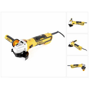 Angle grinder DWE4347, brushless, 125mm, 1700W, DeWalt