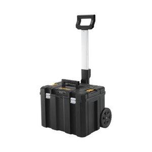 Įrankių dėžė TSTAK, su mobiliu vežimėliu, DeWalt