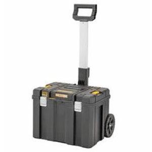 Įrankių dėžė TSTAK 2.0, su mobiliu vežimėliu, DeWalt
