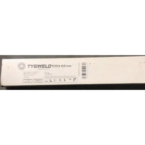 Metin.s elektrodi tēraudam E6013 4.0x450mm, 5kg TYSWELD, Welding materials