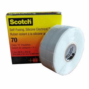 Scotch 70 silikoninės gumos juosta 25mm x9,1m, 3M