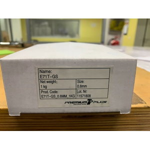 Isekaitsev täidistraat Premium1 E71T-GS 0,8mm 1kg