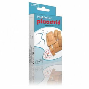 Waterproof adhesive plasters, 24 pcs 6 different size