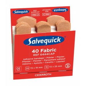 Salvequick täitepakend, tekstiilplaastrid, 40tk