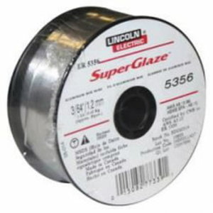 Suvirinimo viela SUPERGLAZE MIG-5356 AlMg5 1,2mm 7kg, Lincoln Electric