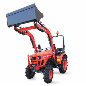 Tractor  EK1-261 with front loader Me05, Kubota
