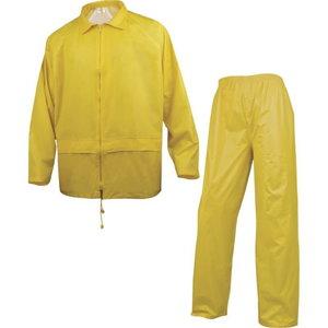 Kostiumas  nuo lietaus 400 geltona,  dydis  L L, Delta Plus
