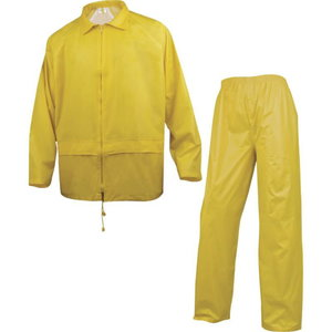 Kostiumas nuo lietaus  400 geltona, dydis  XL XL, Delta Plus