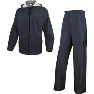 Lietus jaka un bikses, zils, 3XL, Delta Plus