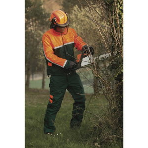 Miškininko striukė, EPICEA 3, žalia/oranžinė, Delta Plus