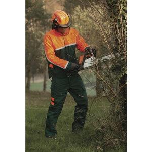 Mežstrādnieku jaka EPICEA 3, green/orange 2XL, DELTAPLUS