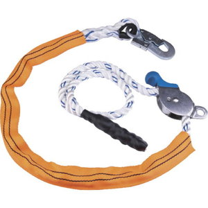 ADJUSTABLE WORK POSITIONING LANYARD WITH STAINLESS STEEL TEN, Delta Plus