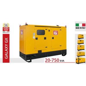 Ģenerators VISA 120 kVA F120GX Galaxy, Visa