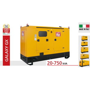 Ģenerators  120 kVA F120GX Galaxy, Visa