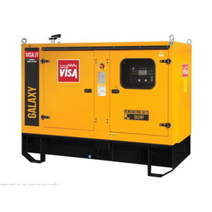 Generatorius VISA 83 kVA F80GX, Visa