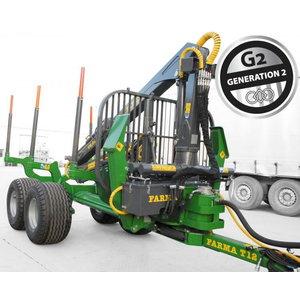 Metsaveohaagis laadurkraanaga  4WD Premium T12G2 C8,5DExt, Farma