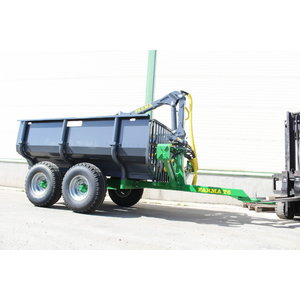 Forest Trailer with crane  T6 C3,8G2, Farma