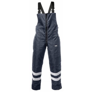 Winter Bib-trousers trousers, navy