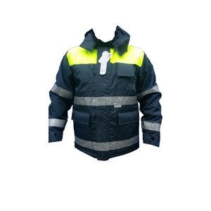 Žieminė striukė 8926, t.mėlyna / geltona 2XL