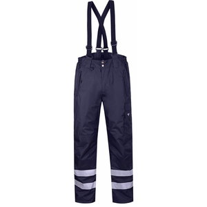 Winter trousers 8931, with brace, navy L