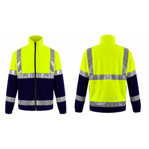 Hi. vis fleece FL01 yellow/navy XL