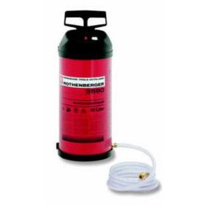Ūdens tvertne 10L ar spiediena manometru, Rothenberger