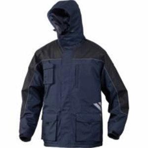 Žieminė striukė su gobtuvu Finnmark mėlyna/juoda XL, Delta Plus