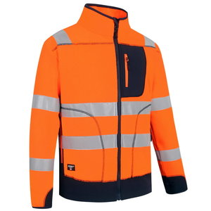 Hi. vis fleece FL02 orange/navy, Pesso