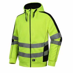 Hi. vis  hoodie, FL05, CL2, yellow, Pesso