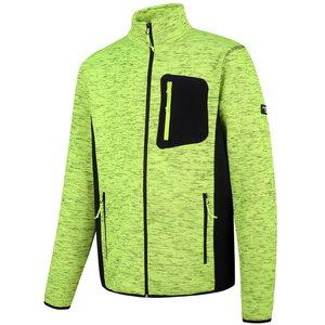 Augstas redzamības jaka Florence, dzeltena/melna, XL, , Pesso