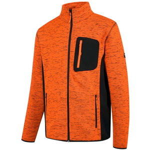Augstas redzamības jaka Florence, oranža/melna, 2XL 2XL, Pesso