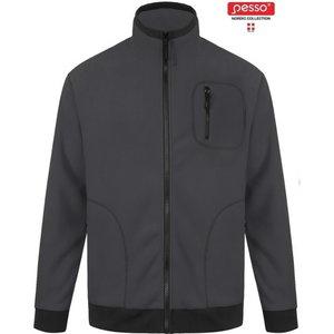 Džemperis Fleece FMPN tamsiai  pilka M