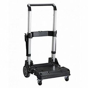Mobile trolley with handle for TSTAK boxes, Stanley