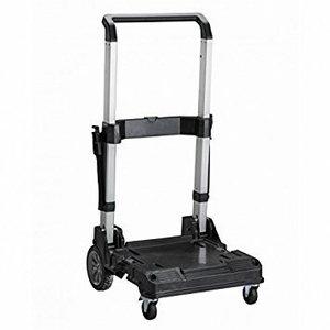 Mobilus vežimėlis su rankena TSTAK dėžėmis, Stanley