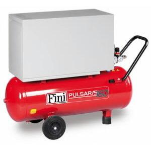 Piston compressor Pulsar/S 160M-50, 230V 1,1KW 50L oilless, Fini