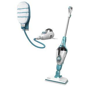 Steam cleaner FSMH13101SM + hand mop / 10-in-1, Black+Decker