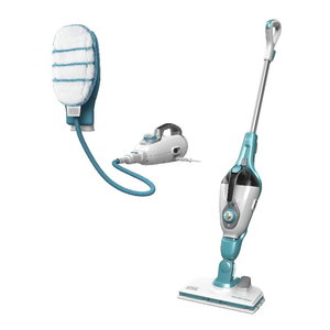 Steam cleaner FSMH13151SM + hand mop / 15-in-1, Black+Decker