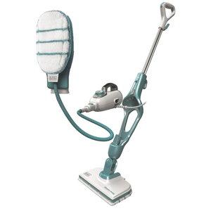 Steam cleaner FSMH1351SM + hand mop / 9-in-1, Black+Decker