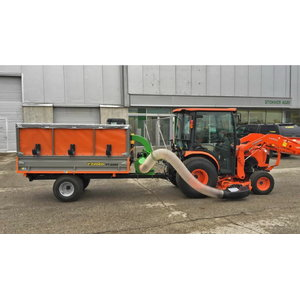 Haagis  FT-2200 Leaf Trailer, komplektis MIDvac, Foresteel