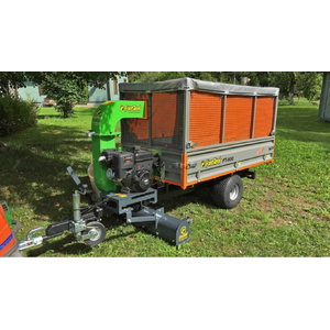 Haagis  FT-600 Leaf Trailer, Foresteel