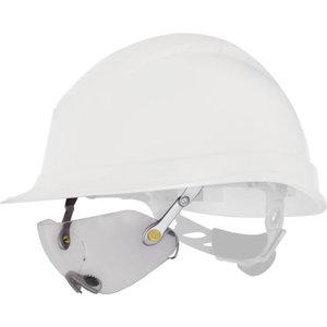 Safety glasses Fuego, for helmets, transparent polycarbonate, Delta Plus