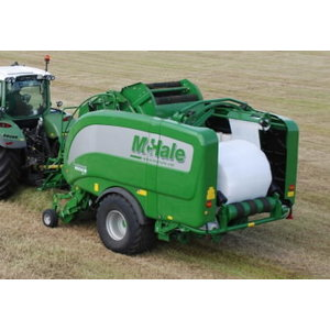 Integrated Baler Wrapper Fusion Vario, Mchale