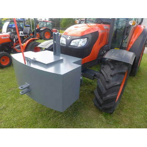 Tractor weight block 500 kg for 3-point linkage, Kubota