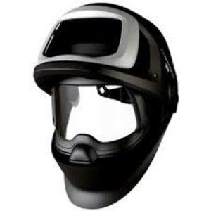 Speedglas 9100FX skydelis su galvos dirželiu, be filtro, Speedglas 3M