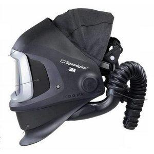 Speedglas 9100 FX Air skydelis su galvos dirželiu be filtro, Speedglas 3M