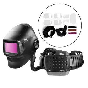 Welding helmet, with Filter & Adflo + parts, Speedglas 3M