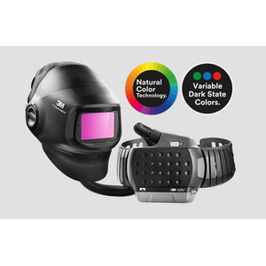 Welding helmet, with Filter & Adflo G5-01VC, Speedglas 3M